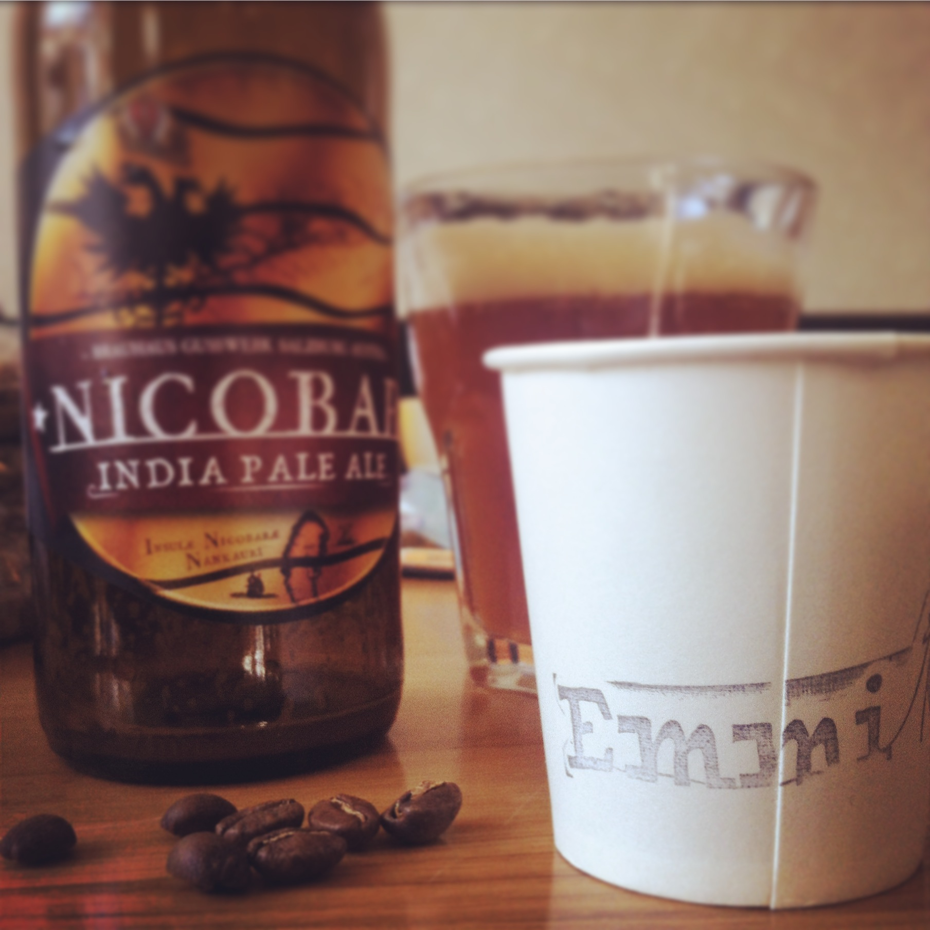Kaffee rösten und Bier trinken in St. Pölten.