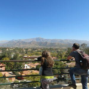 Judith & Stefan overlooking Tarija