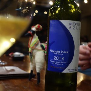 Typical Moscato Dulce from Monte Azul