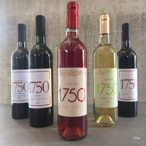 The wines from Uvairenda. 1750 relates to the altitude of the winery by the way.